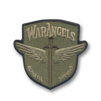 custom multicam embroidered patches