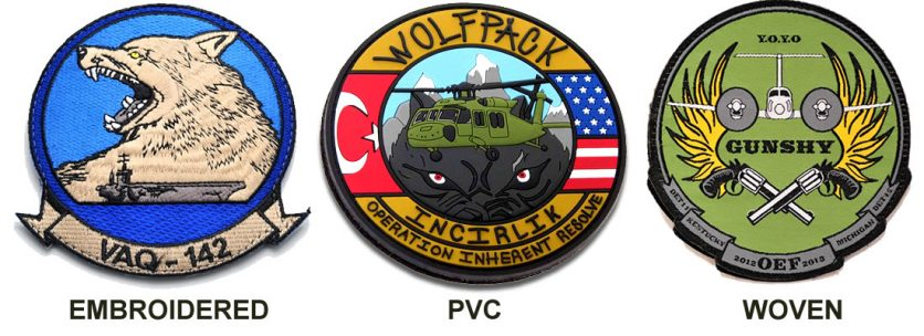 custom velcro-patches-embroidered-pvc-woven