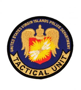 tactical unit embroidered patch