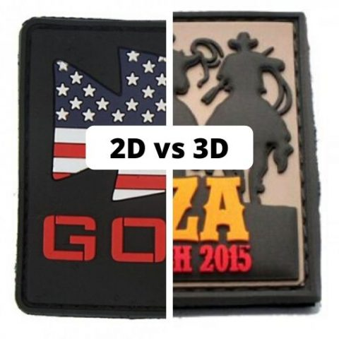 2D vs 3D rubber