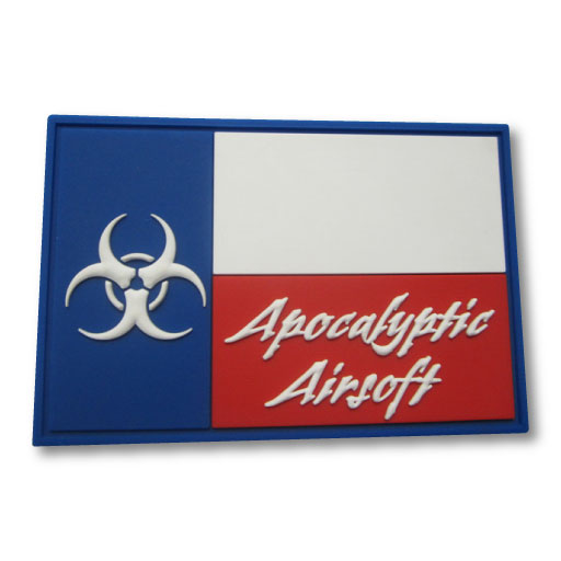 Apocalyptic Airsoft Team PVC Patch