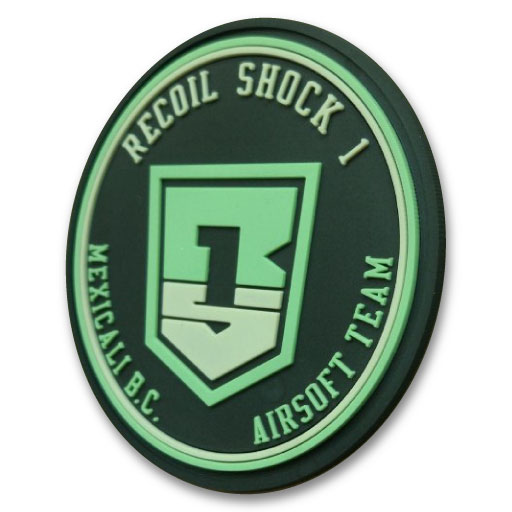 Airsoft Team PVC Patch