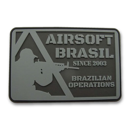 Airsoft Brasil - Square Shaped Airsoft Patch