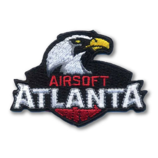 Airsoft Atlanta Embroidered Patch