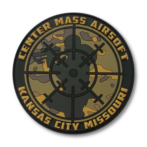 Center Mass Airsoft Field Patch