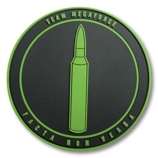 Team Megaforce Minimalist PVC Patch