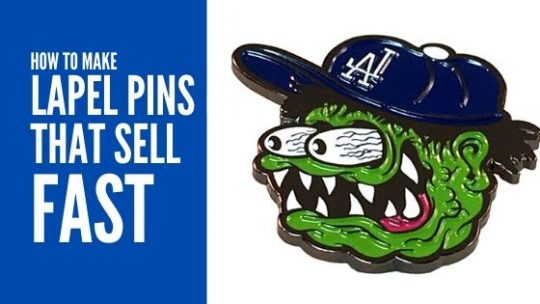 How to make lapel pins that sell fast cover