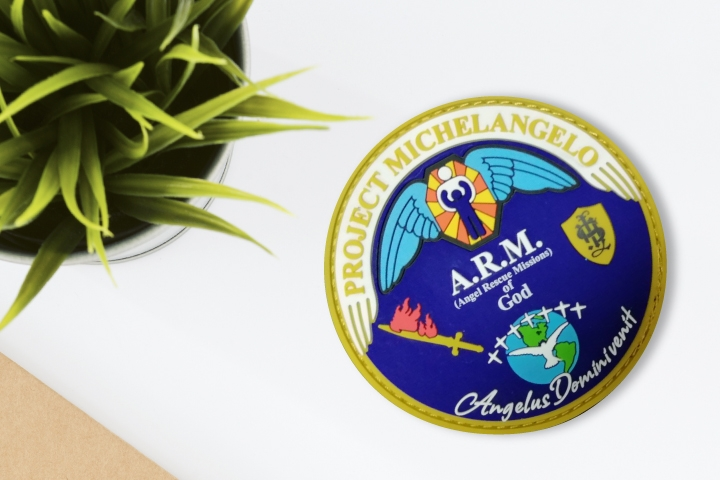 12. Religious Patches for Jackets