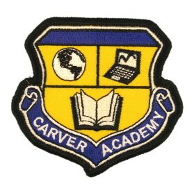 Carver Academy Embroidered Patch