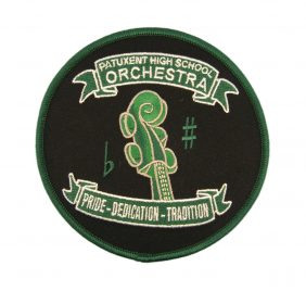 Patuxent High School Orchestra Embroidered Patch