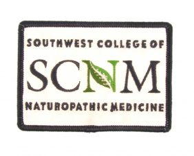 Southwest College of Naturopathic Medicine 50% Embroidered Patch