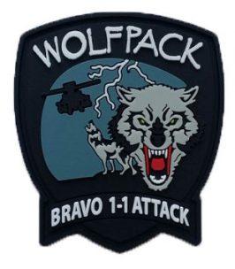 Bravo Attack PVC Patch