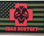 military pvc patches