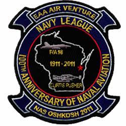 navy league patch