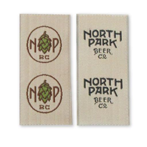 Beer woven label