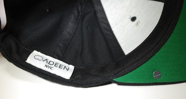 custom woven labels for hats