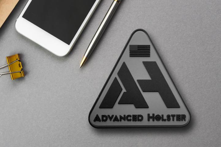 2D Logo - PVC Velcro Patches for Hats