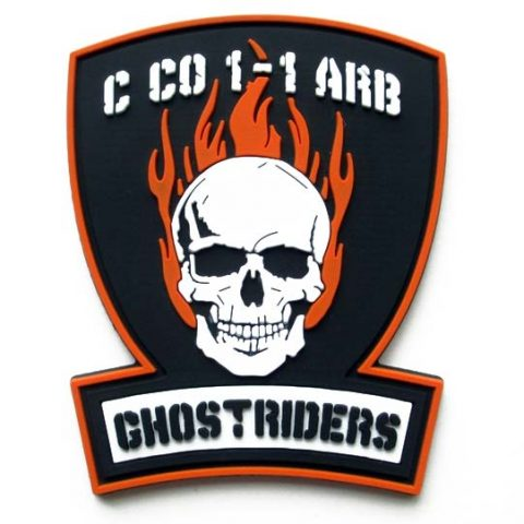 army-motorcycle-ghostriders-pvc-patch