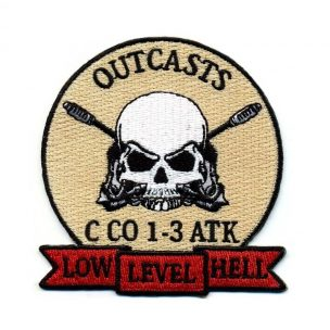army-motorcycle-outcasts-embroidered-patch