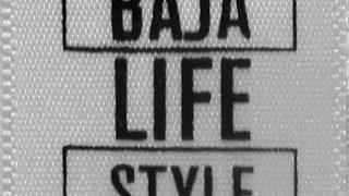 Baja Lifestyle Printed Clothing Label