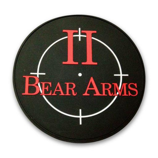 bear logo pvc patches