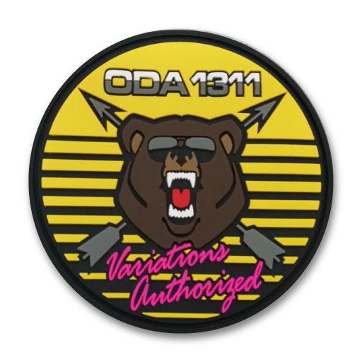 bear logo patch