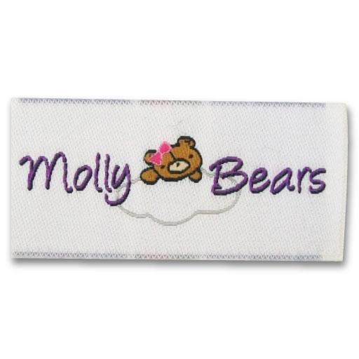 bear logo clothing labels