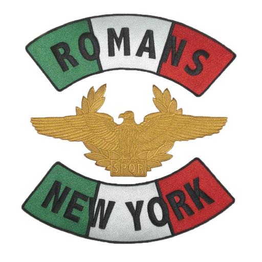 biker-woven-patch-romans-newyork