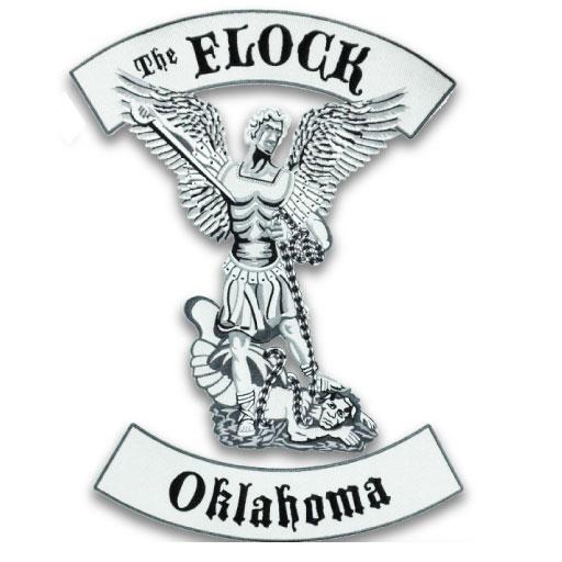 biker-woven-patch-the-flock