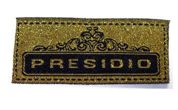 Metallic-woven-labels-Presidio