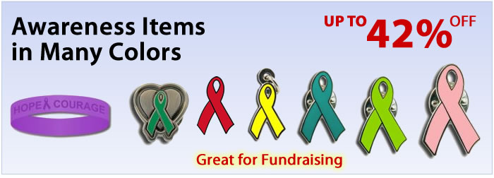 awareness pins