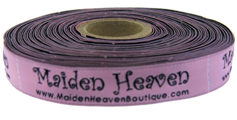custom woven ribbon tape