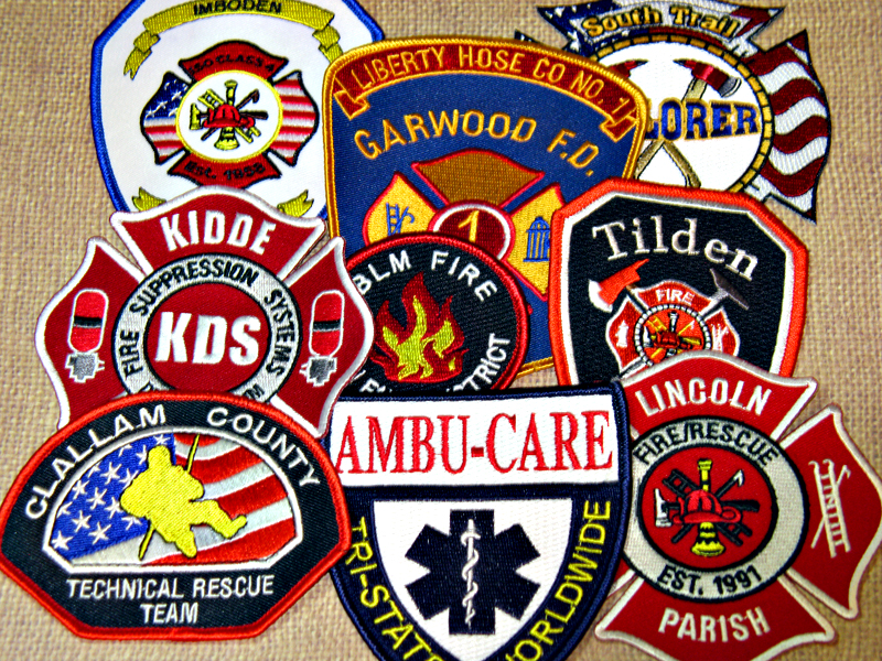 fire fighter patches