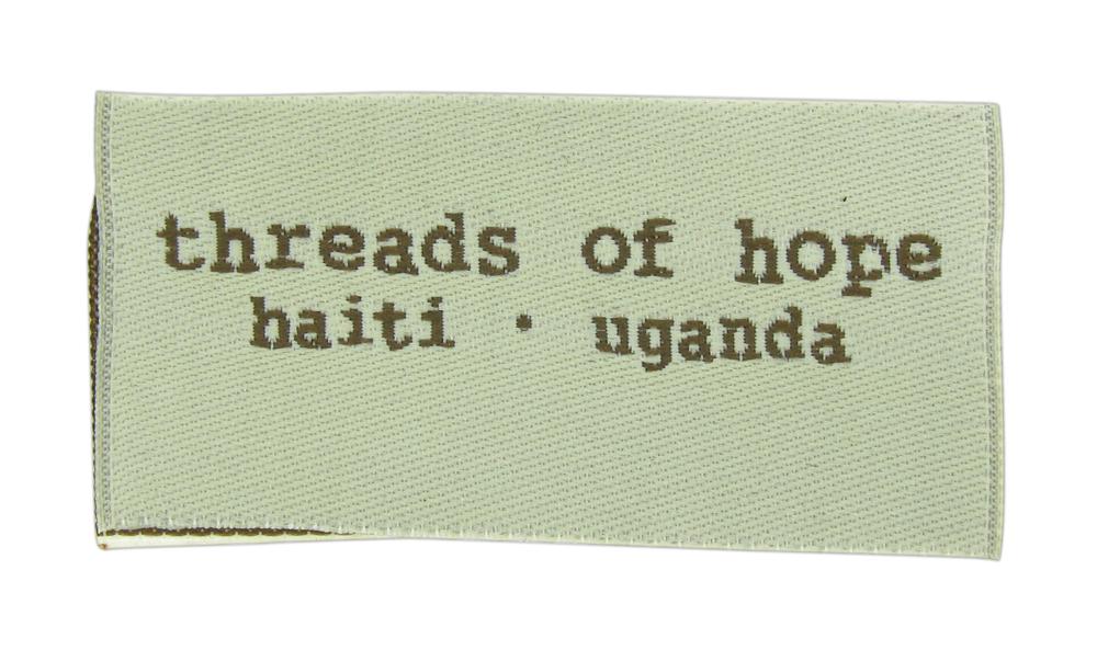 non profit woven label