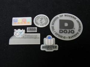 clear pvc labels