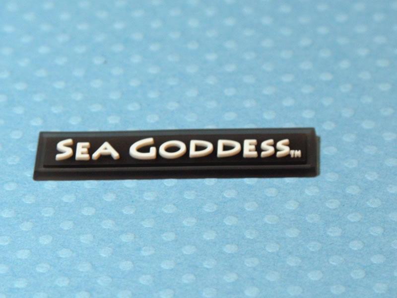 Sea Goddess PVC Label
