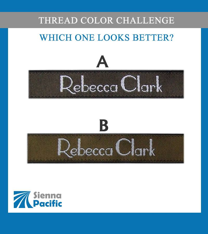 Woven Thread Color Challenge – Rebecca Clark