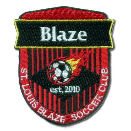 Blaze Soccer Club Patches