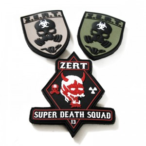 Custom Military Unit PVC Patches – Z.E.R.T. – Part II