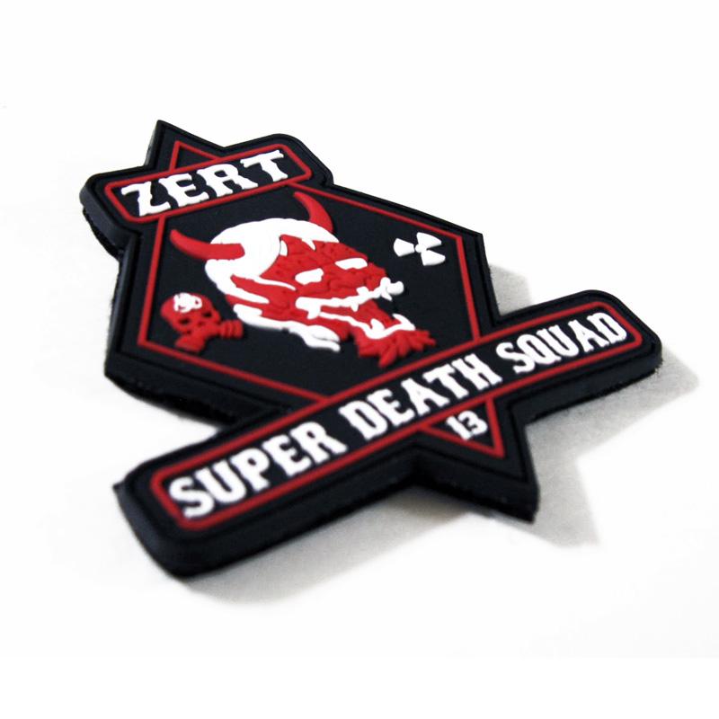 Z.E.R.T. Super Death Squad - PVC Patch