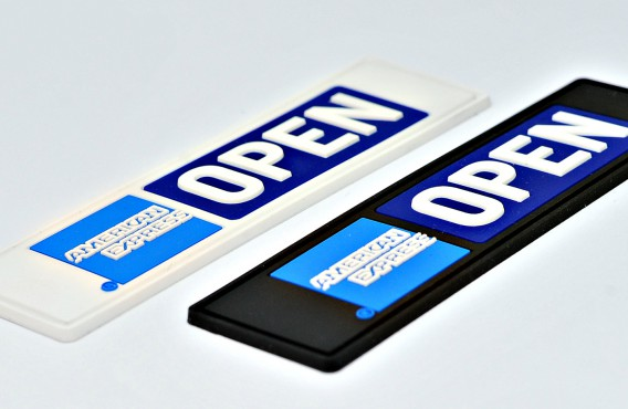 American Express PVC Labels