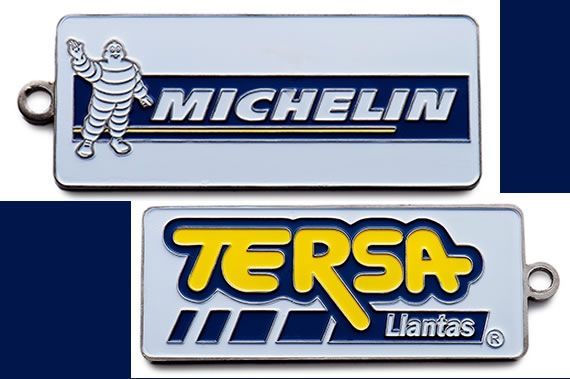 michelin-metal-keychain