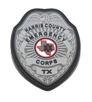 harris county emergency corps texas pvc patch