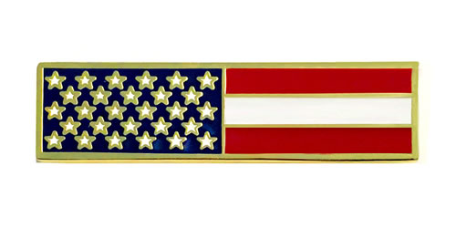 american flag commendation bars