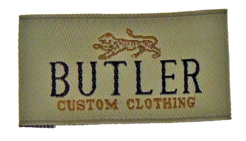 butler clothiers label