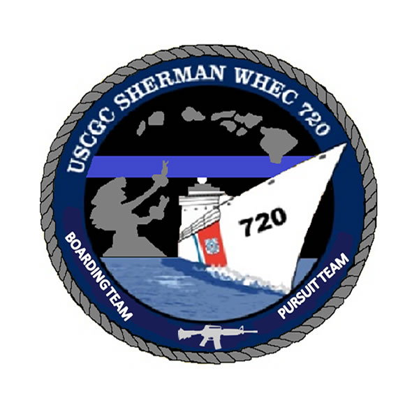PVC Patches for the United States Coast Guard