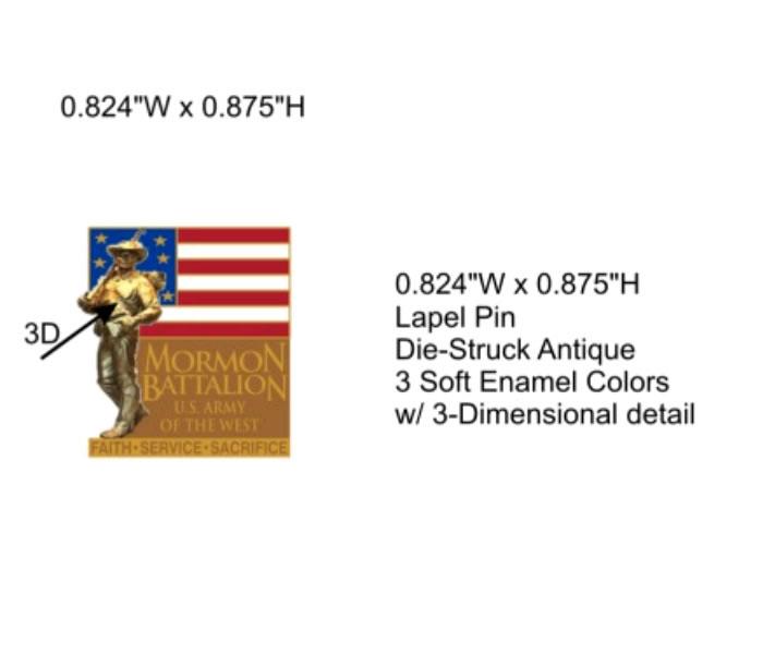 Religious Lapel Pins To Honor The Brave