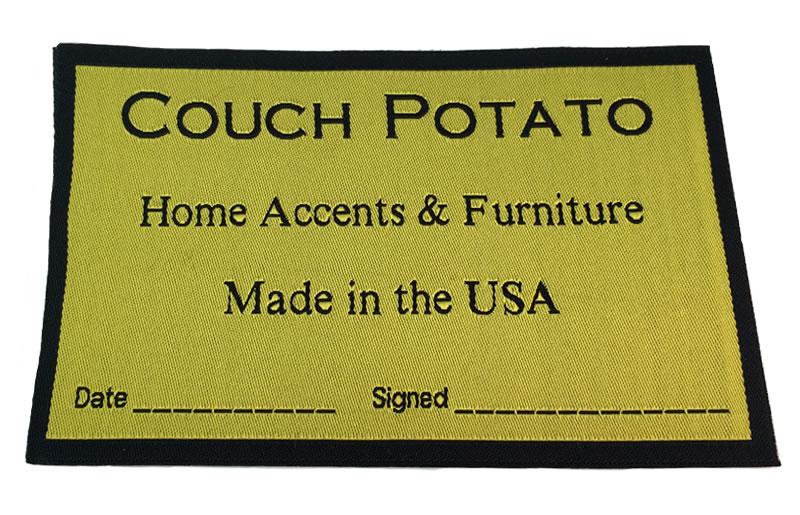 Custom Labels for Furniture
