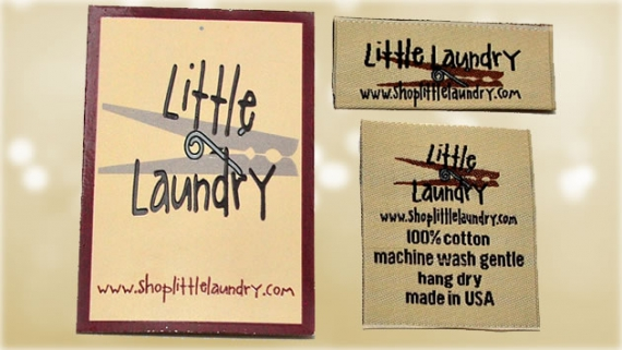 woven-labels- custom hang tags-package-littlelaundry