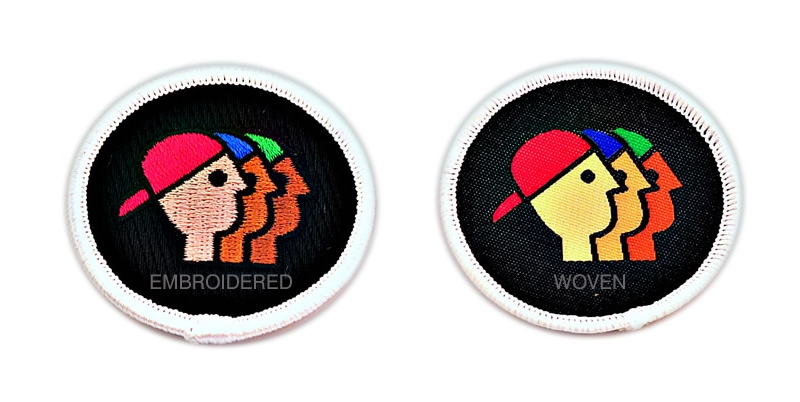 Woven Vs Embroidered Patches 3 Reasons Why A Woven Patch